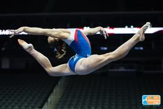 Maggie Nichols (USA) Podium Training for the 2016 American Cup (x)