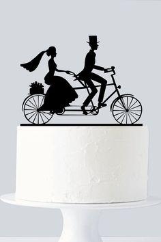 Vélo Cake Topper Cycle Cake Topper A955 par SuntopDesigns sur Etsy