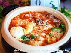 白菜が美味しいチーズ味噌トマト鍋♡の画像 Thai Red Curry, Food And Drink, Cooking, Ethnic Recipes, Kitchen, Brewing, Cuisine, Cook
