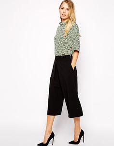 Closet Culotte Pant - Black by: Closet @ASOS (US)