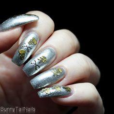 BunnyTailNails: Sanna Tara Nail Art - Saffron 28