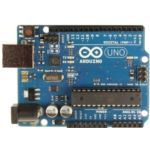 """I love the Arduino platform for rapid prototyping.  This is the Arduuino Ono.  Wire up a prototype without solder, upload a """"Sketch"""" (a program) and you can control a robot, an interactive light show, or something else that you have dreamed up.  It's easy for not code-heads to develop on the Arduino platform."""