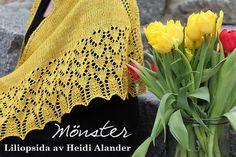 Liliopsida av Heidi Alander. Gratis mönster på svenska.