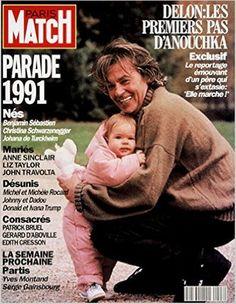 Amazon.fr - Paris Match n° 2223 du 2 Janvier 1992 - Alain Delon avec Anouchka en famille 6 p - Patrick Sebastien pere et grand-pere 2 p - 1991 : les nouveaux mariés 6 p - Patrick Bruel 4 p - Divers - Livres