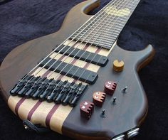 hamer californian translucent 9-string #bass #bassguitar via @samsteiner