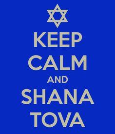 keep calm and shana tova
