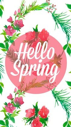 Hello Spring ★ Find more cute #iPhone + #Android #Wallpapers @prettywallpaper