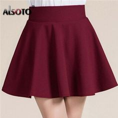 Buy Summer style sexy Skirt for Girl lady Korean Short Skater Fashion female mini Skirt Women Clothing Bottoms in Women's Skirts on AliExpress Skirt Fashion, Fashion Dresses, Skater Fashion, Style Fashion, 40s Fashion, Fashion Hacks, Jeans Fashion, Fashion Quotes, Fashion Brands
