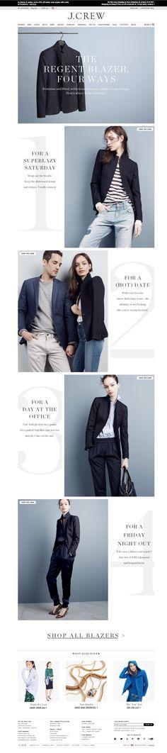 JCrew 4 ways to wear blazer