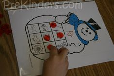 Snowman Letter Sounds Game. This is a great step for after Pre-K students have a strong understanding of their letters and are now ready for SOUNDS!