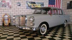 Catawiki online auction house: Mercedes Benz 190-Klasse Heckflosse Sedan 1965 (Matching numbers)