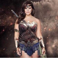 Ashley Graham. Wonder Woman.