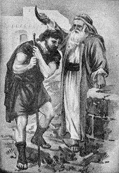 samuel anointing david king of israel - Google Search