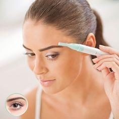 Schöne Augenbrauen mit dem Augenbrauen-Kit -  Trimmen, schneiden zupfen