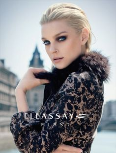 After New York for the Fall Winter season top model Jessica Stam and Ellassay move to the beautiful Paris. Jessica Stam, Canadian Models, Famous Celebrities, Celebs, Photoshoot Inspiration, Makeup Inspiration, Beauty Editorial, Fashion Pictures, Female Models