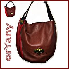 """Julia Chic Hobo orYany Bag Julia chic hobo bag - Excellent condition, barely used. No scratches. 4 pockets 2 zippered Diamond Leather Magnetic Closure 100% Leather Interior is 100% Cotton Measurements: Approximately 17 1/2""""W x 14.5""""H and 9"""" Strap drop orYany Bags Hobos"""