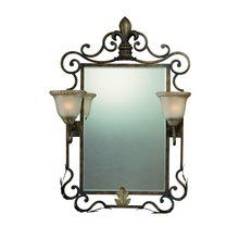 View the Jeremiah Lighting 25722  2 Light Mirror at LightingDirect.com.