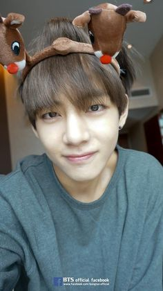 Happy Christmas from BTS - allkpop | #V #뷔 #태형 #태태