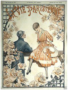 Cover of La Vie Parisienne by Cheri Hérouard, 1916.
