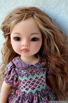 Зеленоглазая, рыжеволосая Лиу. Кастом куклы от Paola Reina / Игровые куклы / Шопик. Продать купить куклу / Бэйбики. Куклы фото. Одежда для кукол