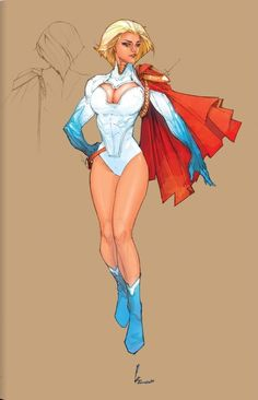 Power Girl by  Kenneth Rocafort