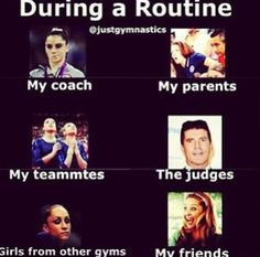 Gymnastics relatable