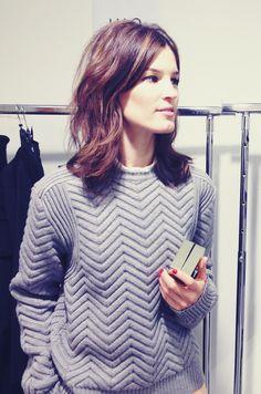 chevron knit