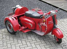 Cool Red Scooter trike !