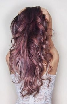 chocolate mauve hair color 1