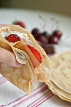 Yummy crepes-on-the-run