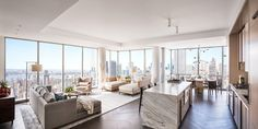 New York appartment of Gisele Bundchen and Tom Brady.