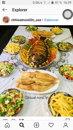 Moroccan Breakfast, Morrocan Food, Seafood Recipes, Sandwiches, Food And Drink, Yummy Food, Restaurant, Dishes, Cooking