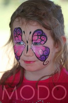 Face Painting - Butterfly https://www.profiletree.com/rachel-dowling