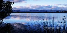 Sunrise Over Lake Pedder by Lexa Harpell
