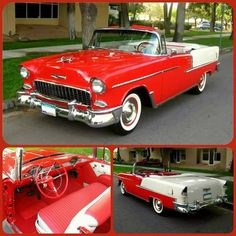 Chevrolet – One Stop Classic Car News & Tips 1955 Chevy Bel Air, 1955 Chevrolet, Chevrolet Bel Air, Chevrolet Impala, Convertible, Corvette Summer, Old School Cars, Best Classic Cars, Us Cars