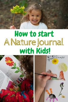 Nature Crafts How to Start a Nature Journal with Kids. Ideas for Nature Journaling and fun ideas for Nature Walks with kids. Nature Activity ideas for kids to help them explore and enjoy the outdoors! Forest School Activities, Nature Activities, Outdoor Activities For Kids, Outdoor Learning, Learning Activities, Kids Outdoor Crafts, Kids Nature Crafts, Outdoor Education, Autumn Activities