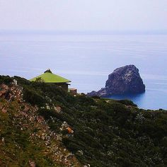 #SardegnaBoatTour Day 2! Buongiorno! Oggi ho visitato questo splendido villaggio a strapiombo sul mare, con queste casette dai tetti particolarissimi. Immagino la bellezza di svegliarsi ogni mattina con questo panorama �� by blueinmymind | #Supramonte's - #Sardinia #Sardegna