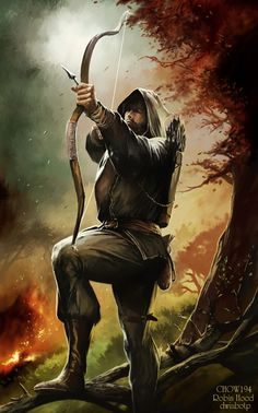 I like this. He looks like a Ranger, even though the picture says Robin Hood. ;)
