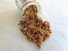 Blueberry Granola (Gluten Free, Grain Free) LHWC