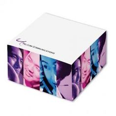 Promotional Products - 2 3/4 x 2 3/4 345 Sheet Post-it (R) Cubes. (Customized with your brand or logo)