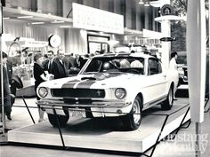 1965 Shelby GT 350 at the 1965 Chicago Auto Show