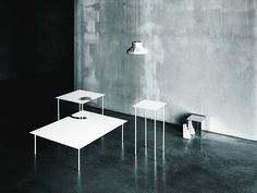 SOFTER THAN STEEL Coffee table by Desalto design Nendo