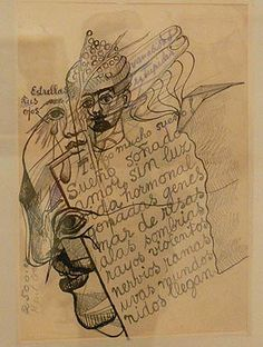 Una de las cartas que se expone en la casa museo de Coyoacán