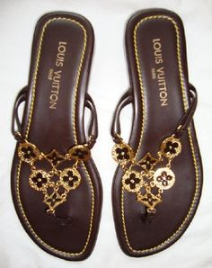 my kind of sandals!-louis vuitton