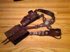 uncharted nathan drake holster - Google Search