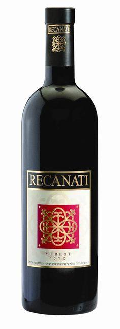 Israeli Wine - Recanati Winery , Recanati Merlot 2011
