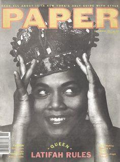 Queen Latifah, November 1991
