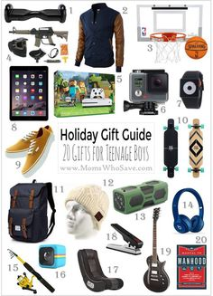 Gift Guide 20 Great Ideas For Teenage Boys