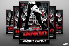 Tango Flyer Template psd V.1
