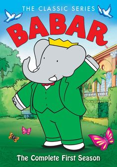 Shop Babar: The Classic Series The Complete First Season Discs] [DVD] at Best Buy. Find low everyday prices and buy online for delivery or in-store pick-up. Right In The Childhood, Childhood Tv Shows, My Childhood Memories, Old School Cartoons, 90s Cartoons, Kids Tv Shows, Old Shows, Classic Series, Classic Cartoons